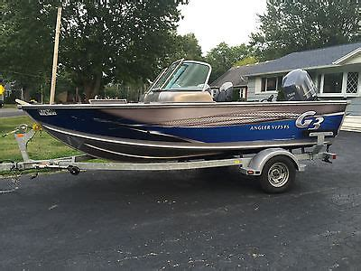 g3 boats angler v175fs sport fishing boats for sale in brewerton new york