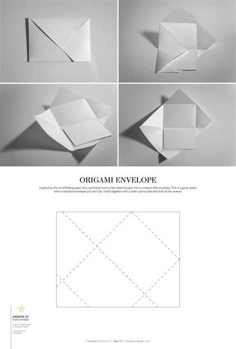 Origami Envelope Template - the world s catalog of ideas