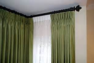Curtain Rod For Corner Windows Inspiration Corner Window Curtain Rods Ikea Rooms