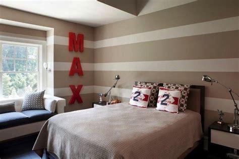 horizontal striped bedroom walls striped boy s bedrooms contemporary boy s room