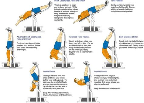 25 best ideas about inversion table on