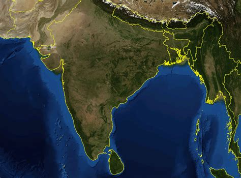 satellite maps india satellite map maps of india