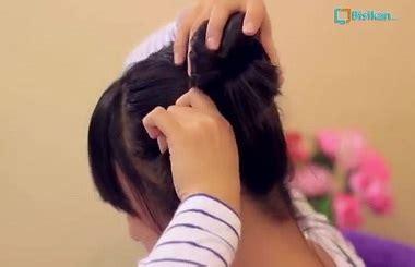 cepol dua cepol dua cepol dua tutorial rambut wanita gaya cepol