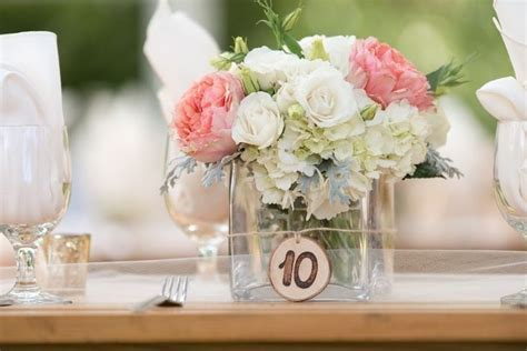 25  best ideas about Peach wedding centerpieces on
