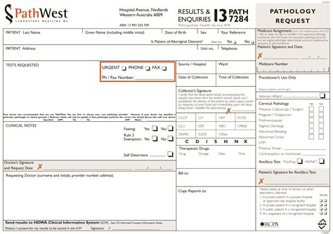 request form health professionals request form ordering