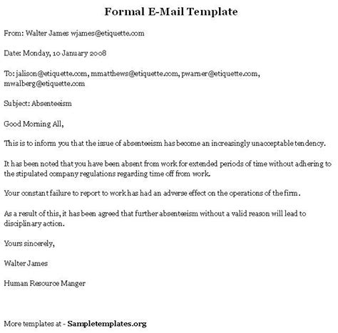 Email Format Search 9 Best Business Documents Images On