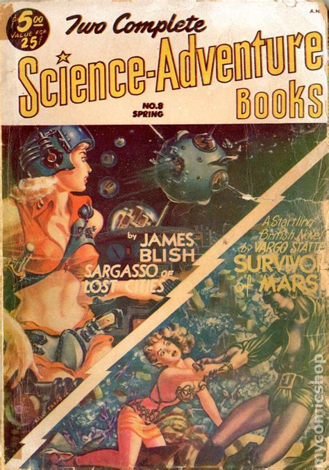 the scientist s adventure books two complete science adventure books 1950 pulp comic books