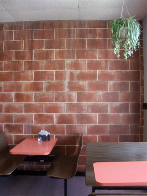 basement cinder block paint faux brick wall painting tips sets cinder