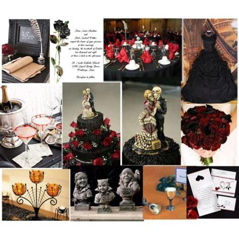 halloween themes wedding 17 best images about creepy elegant wedding shenanigans