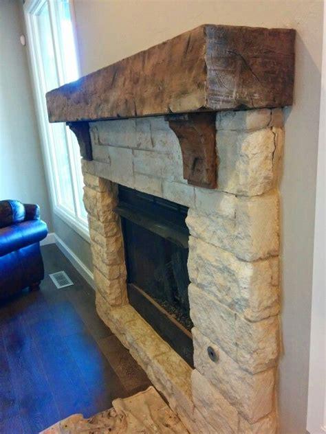 25 best ideas about limestone fireplace on