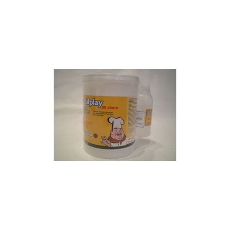 gomma siliconica alimentare gomma siliconica 184 28 silplay kit 1 kg 100g cat