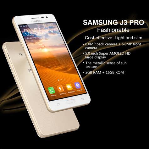 Samsung Galaxy J3 Pro J3119s 4g 2gb 16gb Gold Garansi Distributor 1 samsung j3 pro 5 168 2gb 16gb 4g android 5 1 m 243 vil nfc smartphone oro es ebay