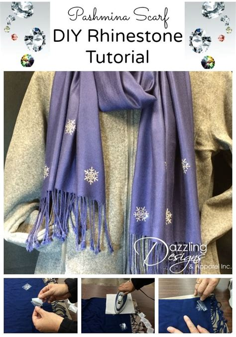 tutorial pashmina cashmere 17 best images about how to bling rhinestone tutorials