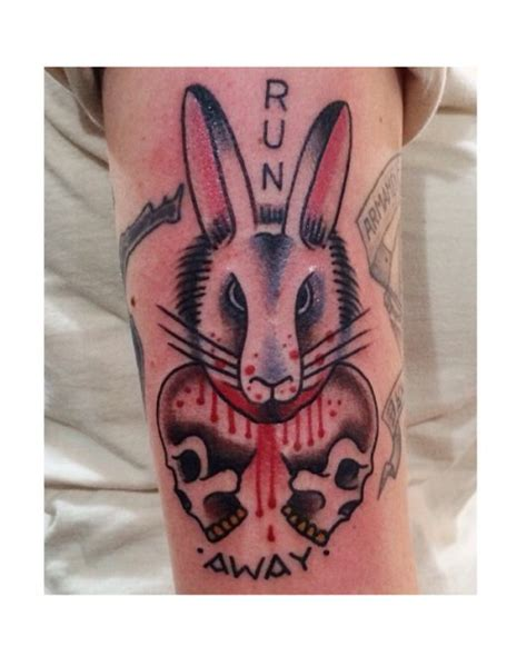 killer rabbit tattoo 21 best images on colors