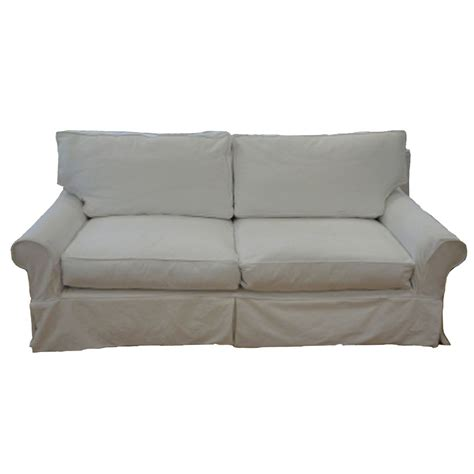 slipcovered loveseat sale our boathouse