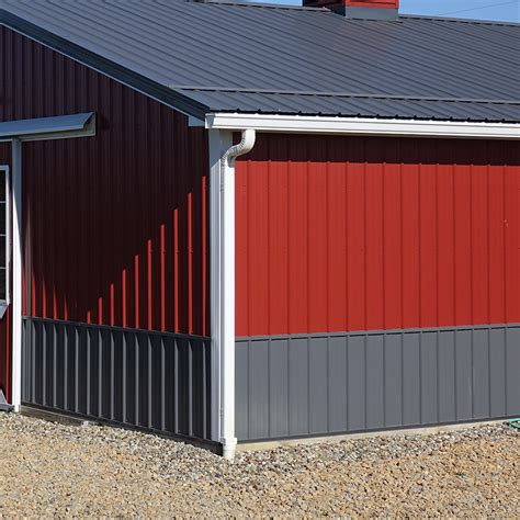 gutters downspouts pole barns direct