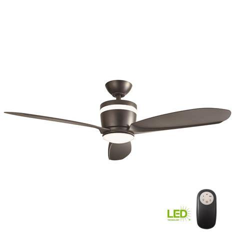 home decorators collection ceiling fan reviews home decorators collection federigo 48 in led matte black