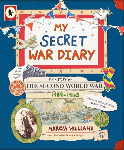 walker books my secret war diary by flossie albright