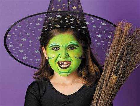 diy witch makeup green makeup witch broom hat