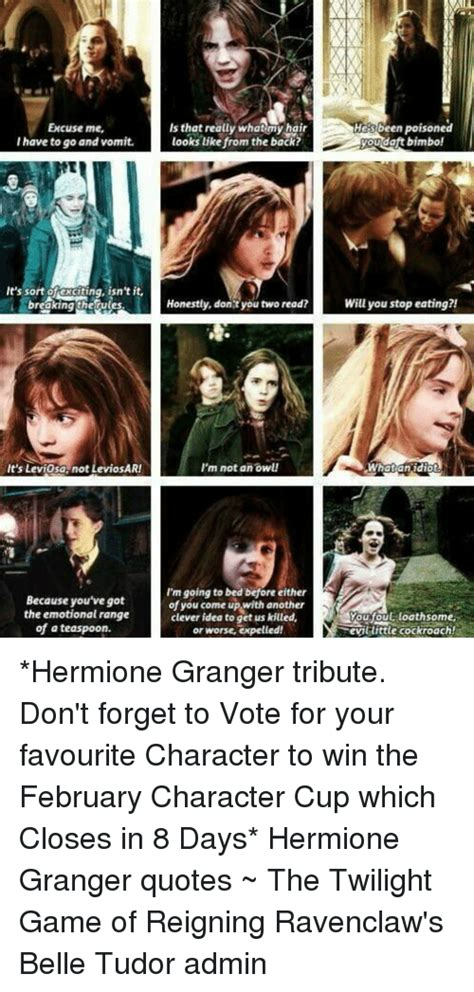 Hermoine Granger Quotes by 25 Best Memes About Hermione Granger Quotes Hermione