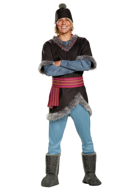 frozen kristoff plus size deluxe costume