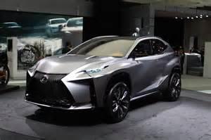 Lexus Lf Nx Lexus Lf Nx Turbo Advanced Crossover Concept Tokyo Motor