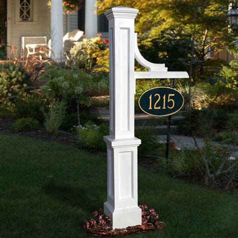 house number sign for l post woodhaven address sign post address plaques and house