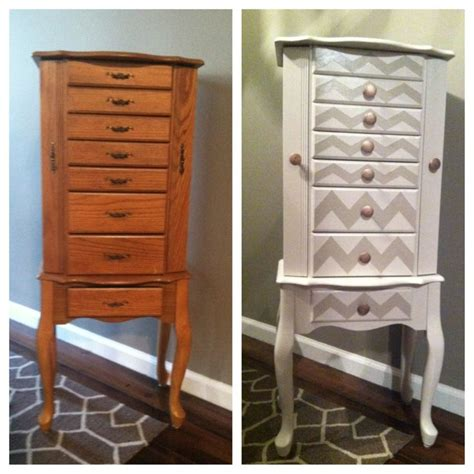 jewelry armoire makeover how to make a simple jewelry box out of wood woodworking