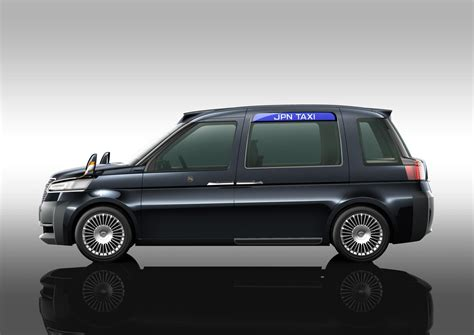 Toyota Jpn Taxi Toyota Jpn Taxi Concept Channels The Black Cab