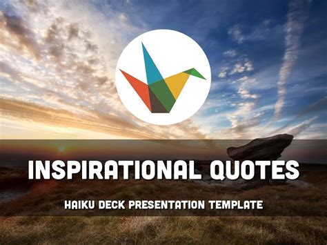 inspirational powerpoint templates haiku deck gallery inspiration presentations and templates