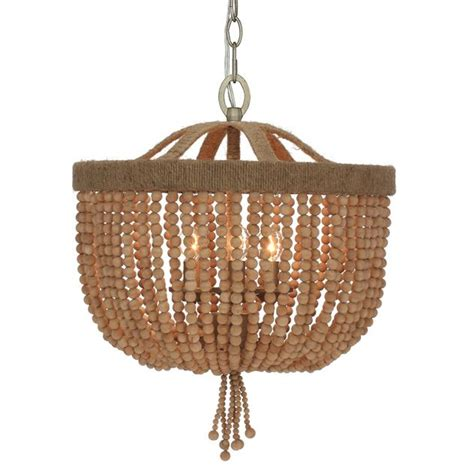 wood bead chandelier park harbor wood bead chandelier park harbor phhl6243 casa empire style chandelier w wood bead accents