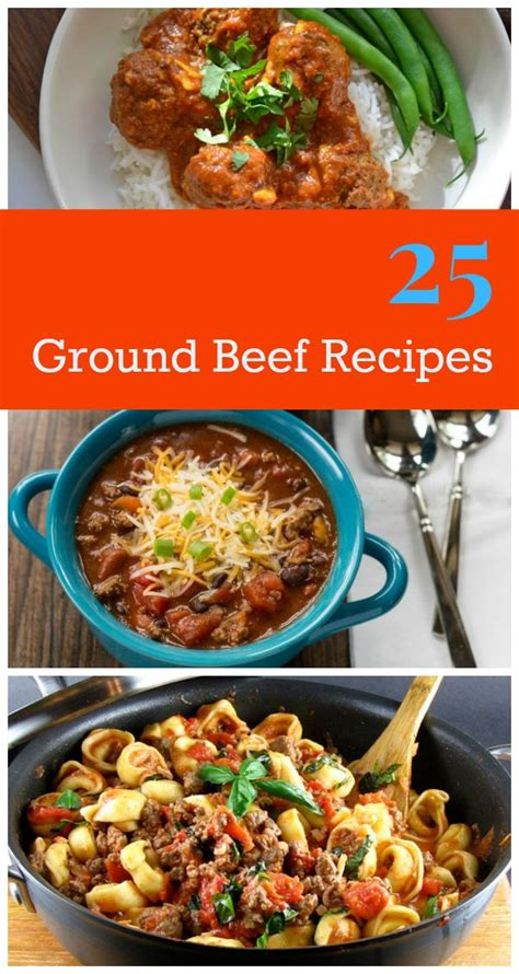 25 quick fixes for ground beef