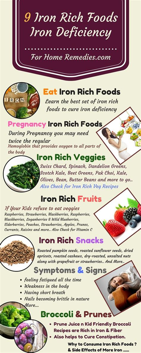vegetables with iron the 25 best foods high in iron ideas on iron