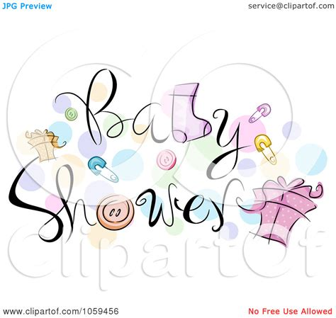 Baby Shower Clip by Baby Artwork Clipart