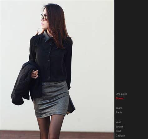 Kemeja Hitam Polos Kerja Kantor Formal kemeja kerja wanita import merah panjang model terbaru