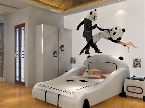 panda room at china s luxurious panda inn all the rooms are