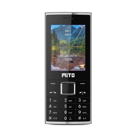 Mito 322 Big Speaker 2 4 jual mito 322 new handphone hitam harga