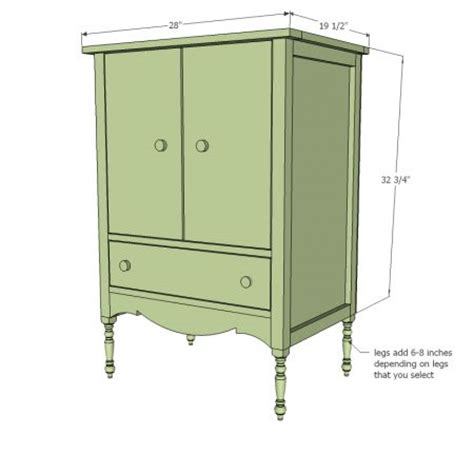 bench plan doll armoire plans furniture american girl dolls and cabinets on pinterest