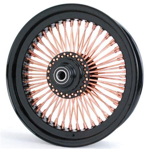 Speichenfelgen Motorrad by Black Hub Copper Spoke Nip 100 Radial Motorcycle Wheel