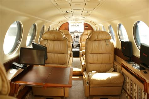 King Air 350 Interior by Beechcraft King Air 350 Tab Charters Tab Charters