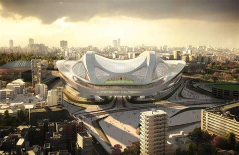 designboom zaha hadid japan japan national stadium by zaha hadid architects tuvie