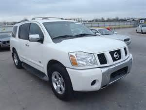 repair voice data communications 2007 nissan armada on board diagnostic system 5n1ba08a17n719365 bidding ended on 2007 white nissan armada autobidmaster