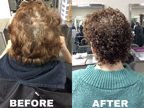 crown perm for gray hair basic perm using quantum ultra firm option and with yellow