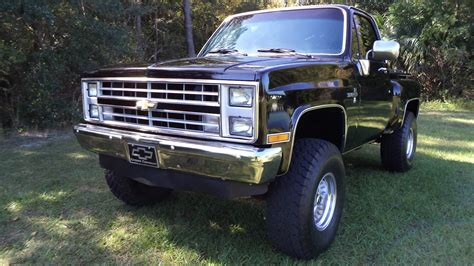 silverado short bed 1986 chevrolet c k 1500 silverado 4x4 short bed step side