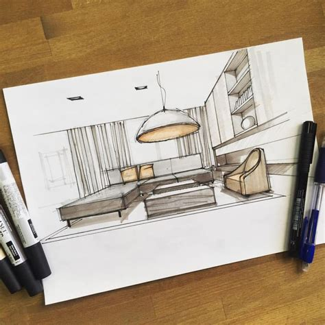 interior sketch 25 best ideas about interior sketch on interior rendering pencil sketches