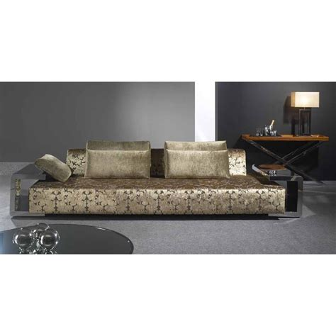 Steel Frame Sofa by Sool Dreams Upholstered Sofa With Stainless Steel Frame