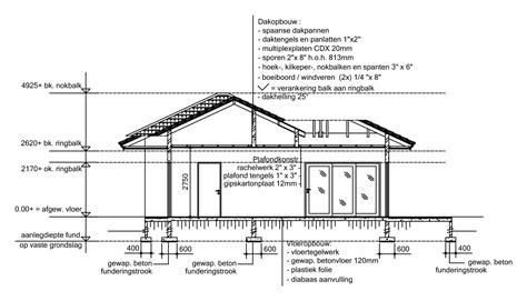 section and plan plan section drawing
