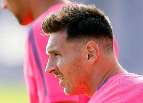 Model Rambut Lionel Messi by Gaya Rambut Messi Jadi Buah Bibir