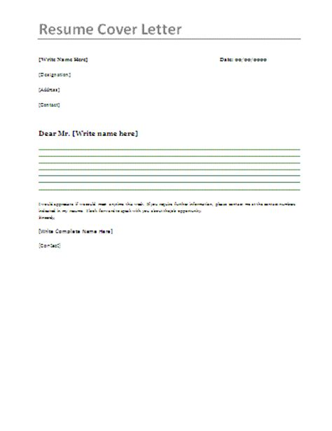 Cover Letter For Resumes – cover letter sample for resume   out of darkness