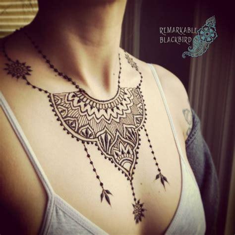 henna chest tattoo tumblr best 25 henna chest ideas on